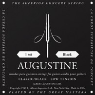 AUGUSTINE CONCERT BLACK LOW TENSION CORDIERA IN NYLON PER CHITARRA CLASSICA