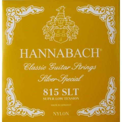 HANNABACH 815 SLT SUPER LOW TENSION CORDIERA IN NYLON PER CHITARRA CLASSICA