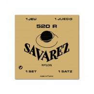 SAVAREZ 520R CORDIERA IN NYLON PER CHITARRA CLASSICA SILVER WOUND - 028/042