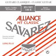 SAVAREZ 540R ALLIANCE HT CLASSIC CORDIERA IN NYLON PER CHITARRA CLASSICA SILVER WOUND - 024/042