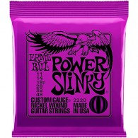ERNIE BALL 2220 POWER SLINKY CORDE PER CHITARRA ELETTRICA NICKEL WOUND 011/048