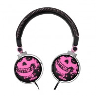MAJESTIC CRA 284 BKPK 3D-ART HEADPHONE SKULL CON CONTROLLO VOLUME
