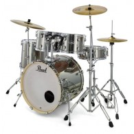 PEARL EXPORT EXX725SBR/C21 SMOKEY CHROME+HARDWARE+SET PIATTI SABIAN SBR