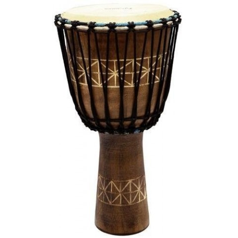 "TYCOON PERCUSSION DJEMBE AFRICANO 12"" IN LEGNO"