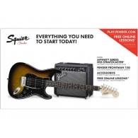 SQUIER AFFINITY BY FENDER HSS 15G BSB PACK