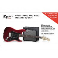 SQUIER AFFINITY BY FENDER HSS 15G CAR PACK