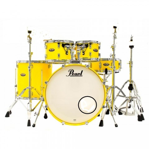 PEARL DECADE MAPLE DMP925S/C228 SOLID YELLOW LIMITED EDITION