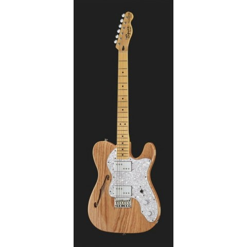 SQUIER BY FENDER VINTAGE MODIFIED 72 TELECASTER THINLINE MN NAT.