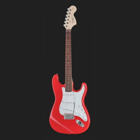 SQUIER AFFINITY BY FENDER STRATOCASTER RACE RED