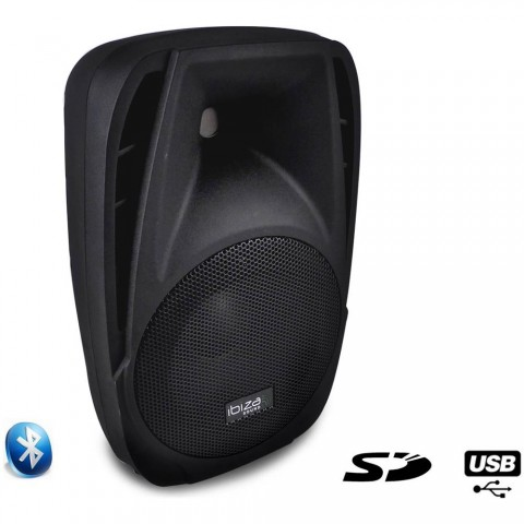 IBIZA BT 8A 150 W.CON USB/SD E BLUETOOTH
