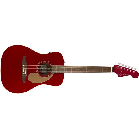 FENDER CALIFORNIA MALIBU PLAYER CANDY APPLE RED