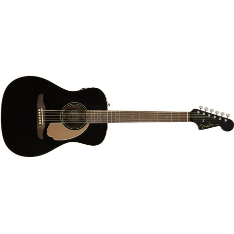 FENDER CALIFORNIA MALIBU PLAYER JETTY BLACK