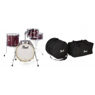 PEARL MIDTOWN MDT 764P/C BLACK CHERRY GLITTER + SET BORSE PMTBG