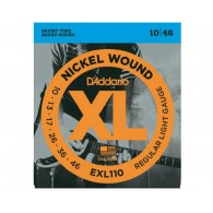 D'ADDARIO EXL110 REGULAR LIGHT CORDIERA PER CHITARRA ELETTRICA NICKEL WOUND 010/046