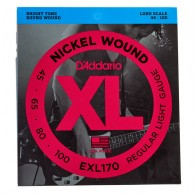 D'ADDARIO EXL170 REGULAR LIGHT GAUGE CORDIERA PER BASSO ELETTRICO 4 CORDE REGULAR LIGHT - 045/100