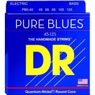DR STRINGS PB5-45 PURE BLUES