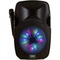 STREET AUDIO I-NRG 10A 250 W.CON LED A BATTERIA + 1 RADIOMICROFONO