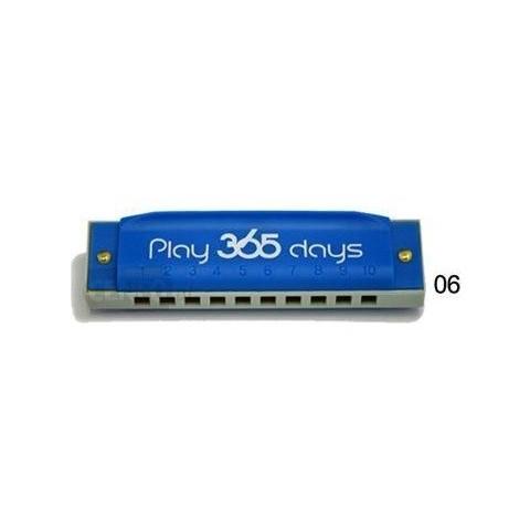 SUZUKI PLAY 365 DAYS 06 BLUE ARMONICA DIATONICA 10 FORI IN DO