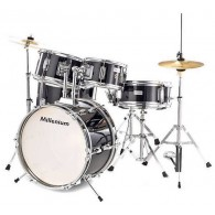 MILLENIUM MX JUNIOR DRUMSET+HARDWARE + PIATTI