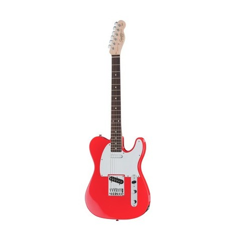 SQUIER AFFINITY BY FENDER TELECASTER MET.RED