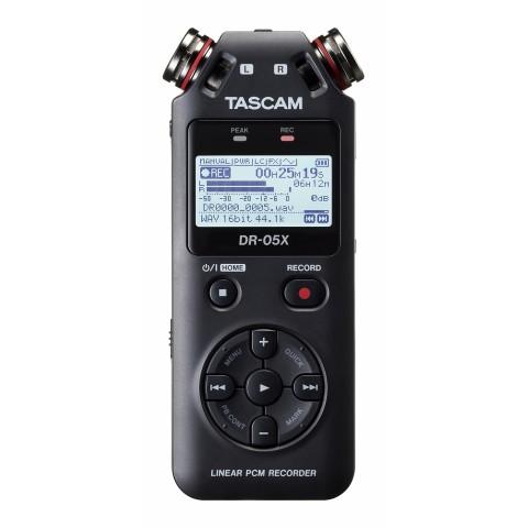 TASCAM DR 05X CON INTERFACCIA USB
