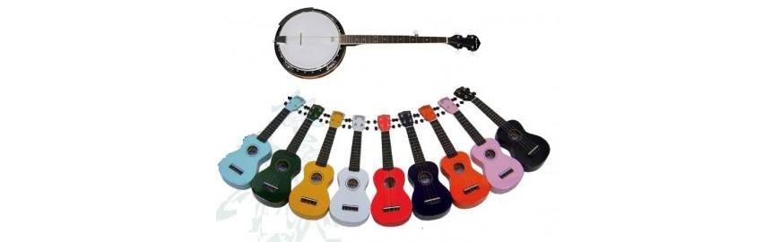 Ukulele e Banjo