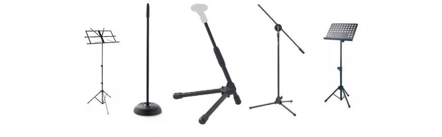 Leggii e Aste Microfoniche